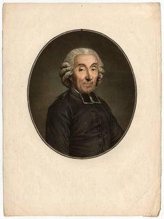 Untitled - Portrait of Gabriel Bonnot de Mably.