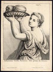 Johannina Vesella Pictressa, Filie prima da Titiano.
