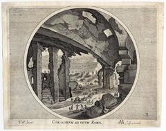 Colosseum ad vivum Romae.