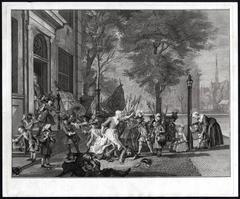 Het Amsterdamse kermisfeest.