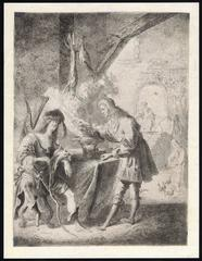 Untitled - Esau selling his birthright to Jacob.