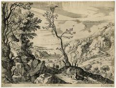 Untitled - A large Italian landscape.
