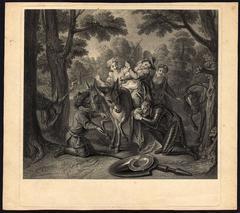 Untitled - Don Quijote kneeling...