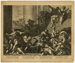 Infantes matrum iugulantur ab ubere rapti [..]. - Massacre of the innocents.