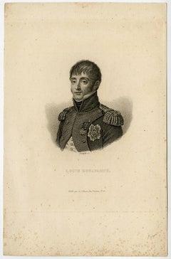 Louis Bonaparte. Portrait of Louis Bonaparte.