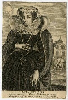 Vera effigies Mariae Stuartae [..]. Portrait of Mary Stuart, queen of Scots.