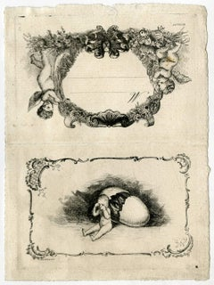 Untitled - An invitation card probably relating to a birth.