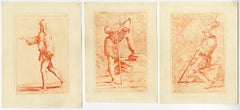Untitled - Collection of 15 prints with a variety of figures.
