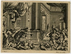 Untitled - Perseus showing the head of Medusa to his enemies.
