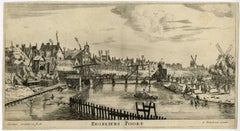 Regeliers Poort.- View of the Reguliers Gate in Amsterdam.
