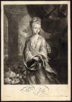 Mrs. Cross.- Portrait of Mrs. Cross (an actress).