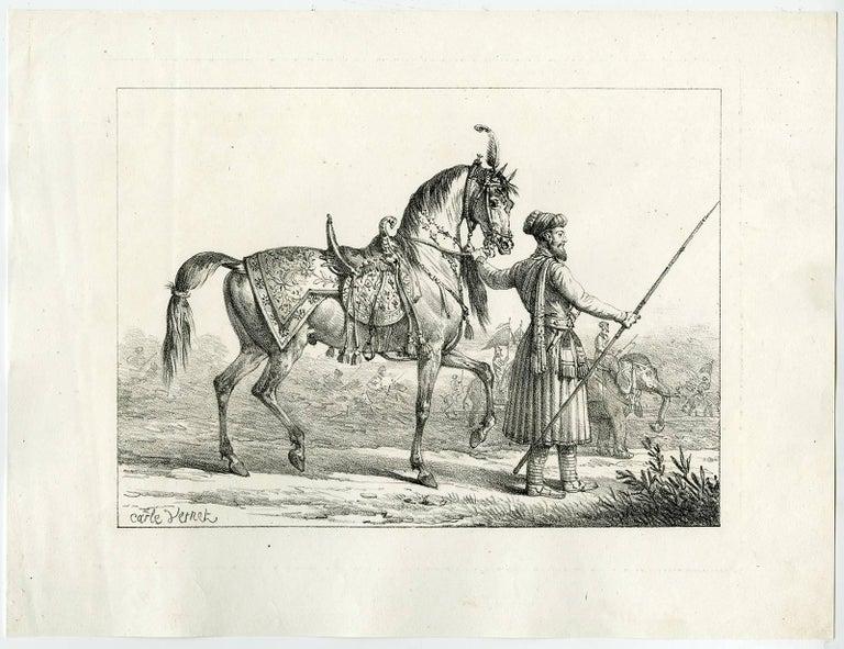 Carle vernet antoine charles horace vernet cheval for Carpe vente