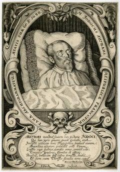 M. Jodocus Autheus [..].- Portrait of the deceased Jodocus Antheus.