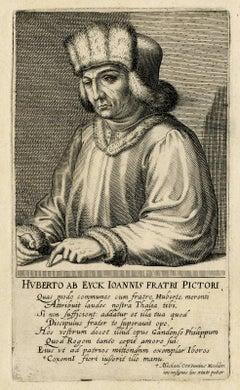 Huberto ab Eyck Ioannis Fratri Pictori.