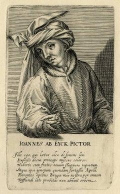 Ioannes ab Eyck pictor - Portrait of the painter Jan van Eyck.