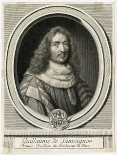 Guillaume de Lamoignon premier president du Parlement de Paris.