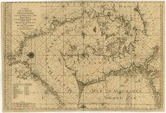 Carte De La Mer De Dannemark Et Des Entrees Dans La Mer Baltique  [...].