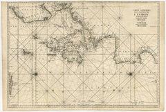 Carte generale des costes de l'Europe sur l'ocean [...].
