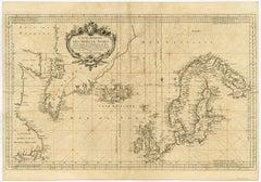 Carte reduite des Mers du Nord [...].