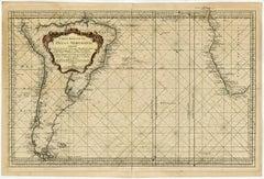 Carte reduite de l'Ocean Meridional [...].