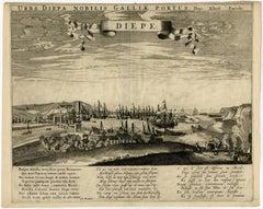 Diepe. Urbs Diepa nobilis Galliae portus.