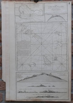 The Cape Verde Islands - A map of the Cape Verde islands.