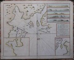 Carte des Principaux Ports des Isles Orcades […].