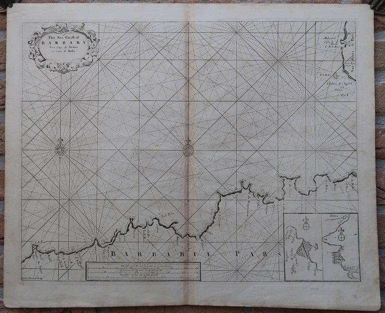 The Sea Coast of Barbary from Cape de Tenes to Cape de Rosa.