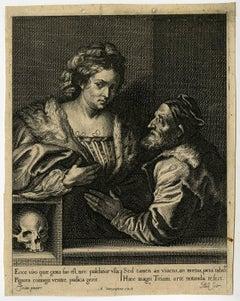 Ecce viro quae grata suo est [..]. - Titian and his mistress.