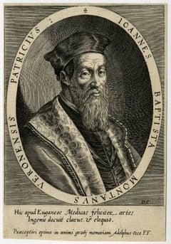 Ioannes Baptista Montanus Veronensis patricius.