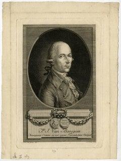 P. J. van Bavegem - Portrait of the physician P. J. van Bavegem from Antwerp.