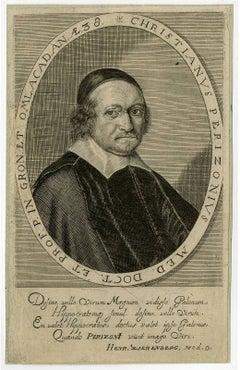 Christianus Perizonius [..] - Portrait of Christianus Perizonius.