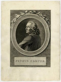 Petrus Camper - Portrait of Petrus Camper