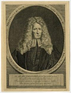 Fredericus Ruysch med. Doctor anatomiae [..]- Portrait of Frederick Ruysch [...]