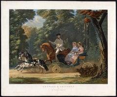 Henri d'Ainecy Montpezat - Chevaux & Voitures. 5 Le Poney-Chaise.