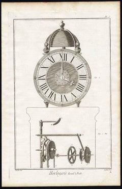 Horlogerie. Complete set of 63 engravings.