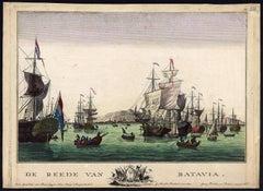 De Reede van Batavia.
