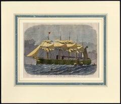 Our Iron-Clad Fleet: H.M.S. Minotaur, built on the Thames.