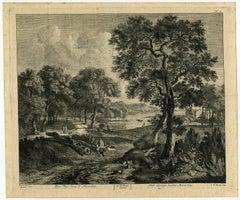 Plate 1.Vue hors d'Haarlem. Plate 2.Dito Vue hors d'Haarlem.