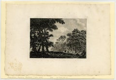Untitled - Landscape with large trees.