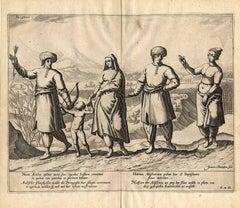 Left: Naute Arabes [...] - Arabischer scheepluyden [...].
