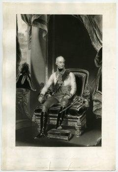 Francis 1st Emperor of Austria - Portrait of Franz I Emperor of Austria.
