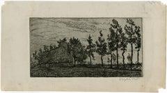 Untitled - Landscape in Brabant.