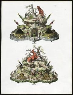 Untitled - Plate 92, Dessins 273-274: 273 - Luxury tale decoration.