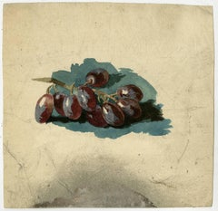 Untitled - Study of a bunch of grapes.