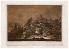 Untitled - Cavalry skirmish.