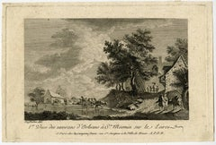 1er Vues des environs d'Orleans à St. Mesmin sur le Loire.