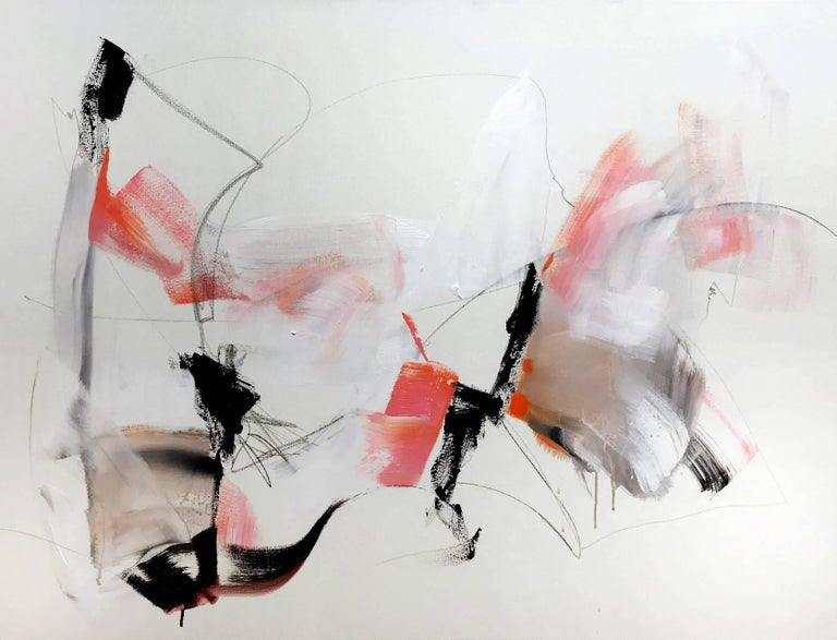 Vicky Barranguet Abstract Painting - Subtle
