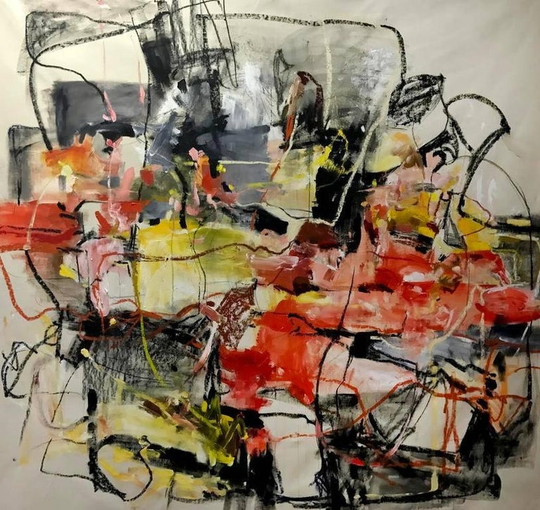 Vicky Barranguet Abstract Painting - New York Sessions I