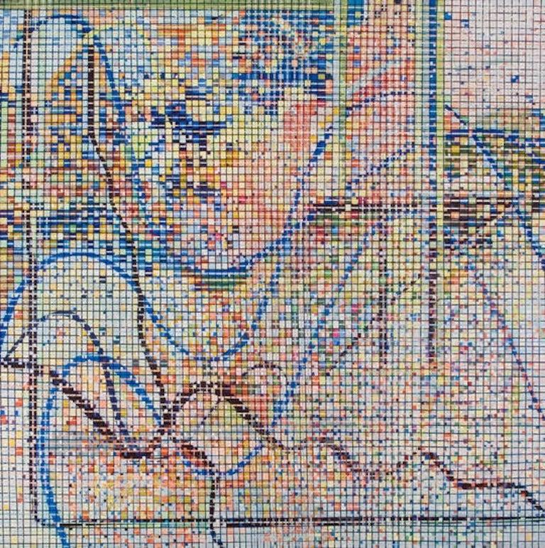 Cecilia Biagini Abstract Painting - Teorema chino del resto